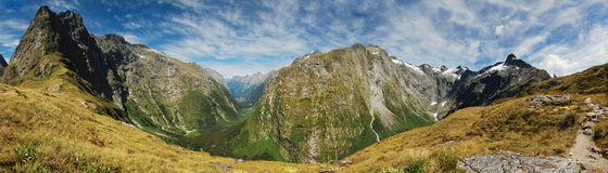 Mackinnon Pass Royalty Free Stock Image