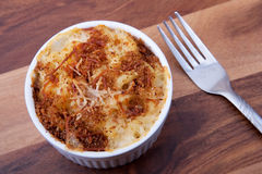 Mackintosh e formaggio Immagini Stock