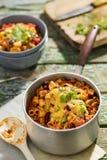 Mackintosh e formaggio dei peperoncini rossi Fotografia Stock