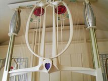 Mackintosh House. Art in the Mackintosh House in Glasgow Stock Photos