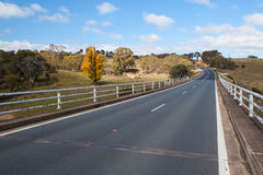 Maclaughlin River Crossing Stock Photography