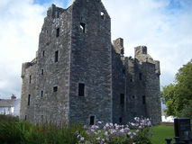 Scottish Maclellan Castle Dumfries Stock Photography