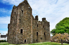 MacLellans slott, Kirkcudbright, Skottland Royaltyfri Foto