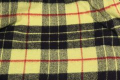 MacLeod Tartan Blanket stock photography