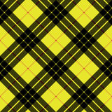 Macleod tartan kilt fabric texture background diagonal seamless. Pattern.Vector illustration. EPS 10. No transparency. No gradients Royalty Free Stock Photo
