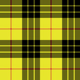 Macleod tartan kilt fabric texture plaid seamless pattern Royalty Free Stock Image