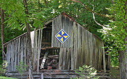 Macon County Quilt Barn Stockbilder