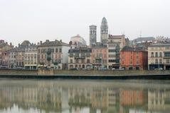 Macon, Francia fotografia stock libera da diritti