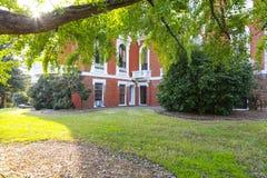 MACON, GEORGIA - OCT 29, 2013: Johnston-Felton-Hay House stock images