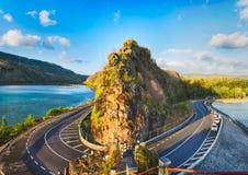 Maconde view point. Mauritius. Panorama Stock Image