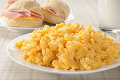 Macoroni and Cheese Stock Photos