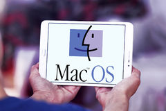 MacOS operating system logo Royalty Free Stock Images