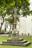 MacPherson Memorial Monument in Singapore Royalty Free Stock Image