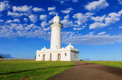 Macquarie-Leuchtturm, Australien Lizenzfreie Stockfotos