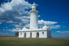 The Macquarie Lighthouse, Sydney, Australia Royalty Free Stock Photos