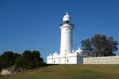 Macquarie Lighthouse, Sydney. Macquarie Lighthouse, Australia's oldest lighthouse, Vaucluse, Sydney, Australia royalty free stock image