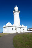 Macquarie Lighthouse in Sydney. Watsons bay is located 11km East of Sydneys CBD Stock Images