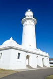 Macquarie Lighthouse in Sydney. Watsons bay is located 11km East of Sydneys CBD Stock Photos
