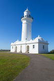Macquarie Lighthouse in Sydney. Watsons bay is located 11km East of Sydneys CBD Royalty Free Stock Photo