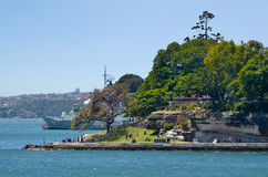 Macquarie's Point Sydney Harbour Sydney Australia Royalty Free Stock Photo