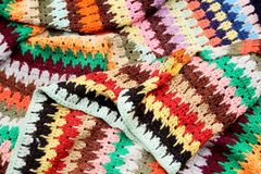 Одеяло Macrame Стоковые Фото