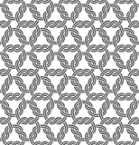 Macrame Seamless Pattern Stock Photos