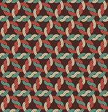 Macrame Seamless Pattern Royalty Free Stock Photo