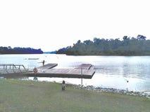 MacRitchie Reservoir Kayaking Dock Stock Photos