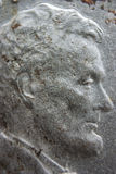 Macro of Abraham Lincoln on Rare Silver Penny Stock Photography
