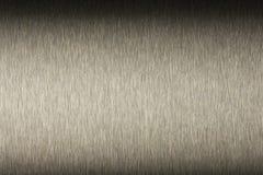 Macro acier inoxydable Photographie stock