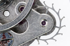 Macro of anchor wheel Stock Photography
