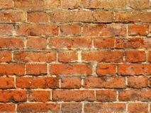 Macro of ancient brick wall Royalty Free Stock Photos