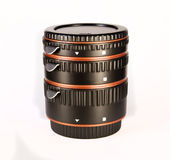 Macro anelli per una lente Fotografia Stock Libera da Diritti