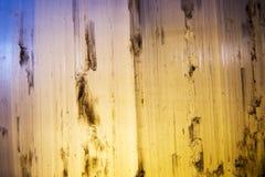 Macro astratta della selenite Fotografia Stock Libera da Diritti