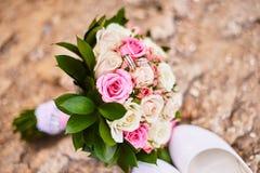 Macro attributs de mariage Photo stock