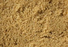Macro of Australian Brown Sugar Royalty Free Stock Photography
