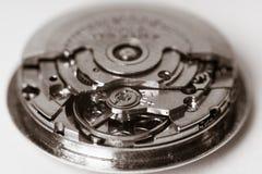 Macro automática del reloj del vintage imágenes de archivo libres de regalías