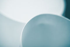 Macro background picture curved sheets of paper Stock Photo