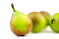 Macro background texture of paradise pear fruit Royalty Free Stock Photo