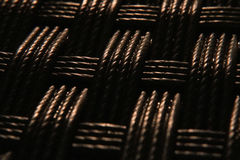 Macro background weaved texture Stock Photos