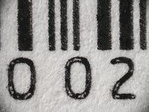 MACRO: Barcode Royalty Free Stock Photography