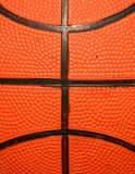 Macro of Basketball Stock Image