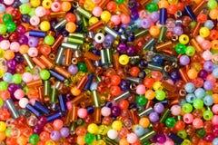 Macro of beads royalty free stock photography