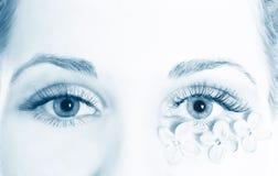 Macro beautiful female eye Royalty Free Stock Photo