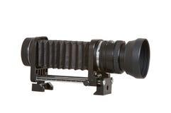 Macro Blaasbalgen & Lens Stock Foto's