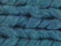 Macro bleu I de fil Images stock