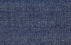 Macro blue jean background Stock Images