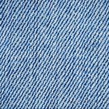 Blue jeans texture. Macro blue jeans texture close up top view Royalty Free Stock Photography