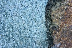 Macro Blue Rock Background 7 Stock Photo