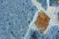 Macro Blue Rock Background 6 Stock Images